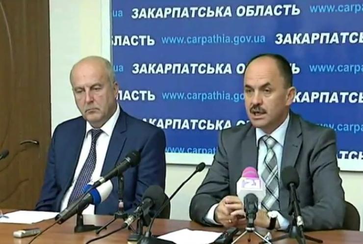 Голова Закарпаття наказав посилити блокпости у області