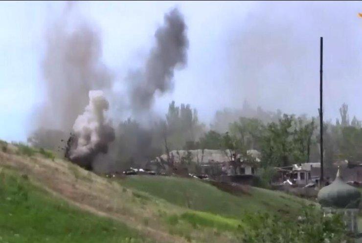 Станиця Луганська зранку зазнала обстрілу