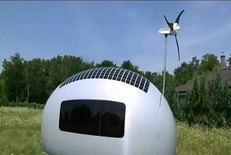 Словаки розробили еко-будинок у формі яйця