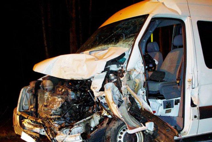 В Румынии попал в аварию автобус с украинцами