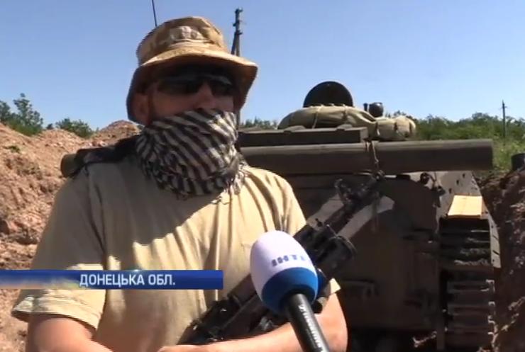 Кримський татарин захищає Авдіївку від атак бойовиків (відео)