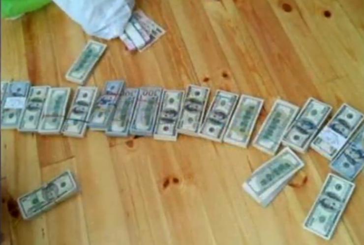 В Житомире арестовали нелегального скупщика янтаря (видео)