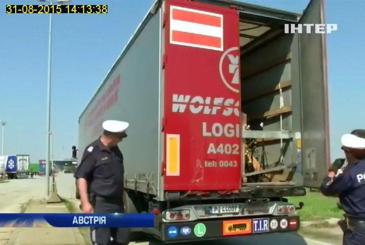 На австро-угорському кордоні утворився 20-кілометровий затор