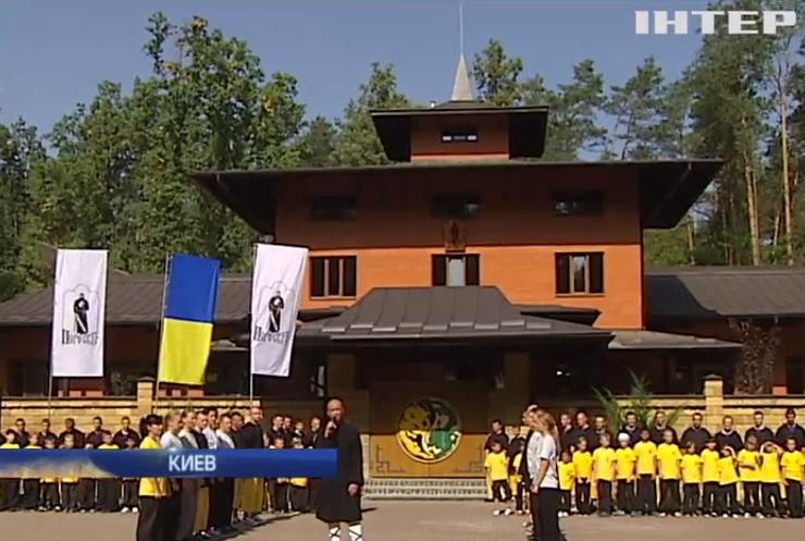 В Киеве воины Кунг-Фу открыли храм боевых искусств