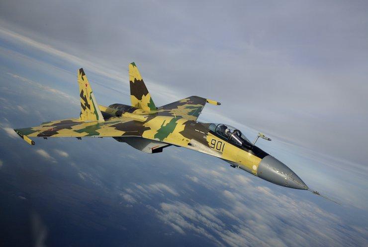 Росія випробує винищувачі Су-35С у Сирії