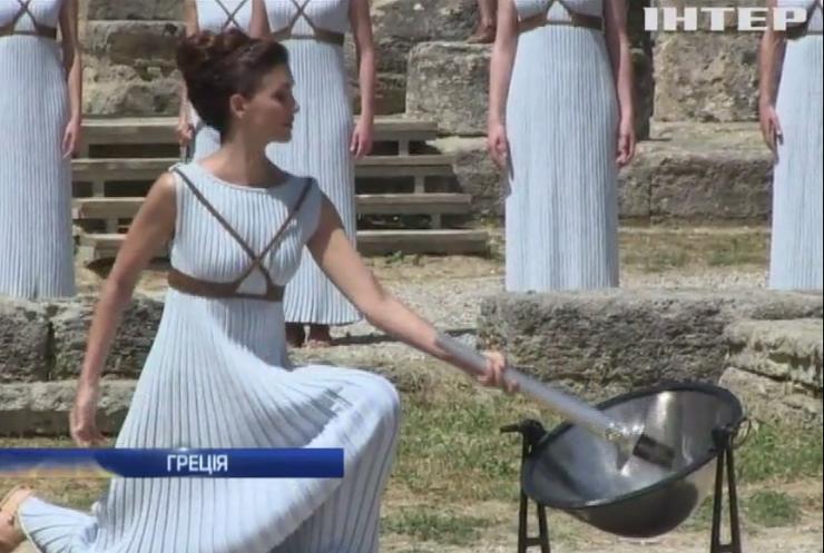 Олімпійський вогонь у Греції пронесе один із мігрантів (відео)