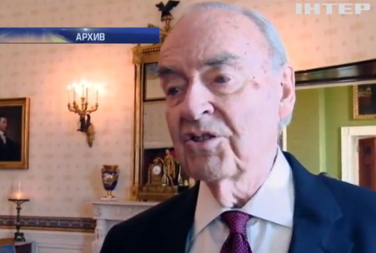 В США 90-летний политик женится на юноше (видео)
