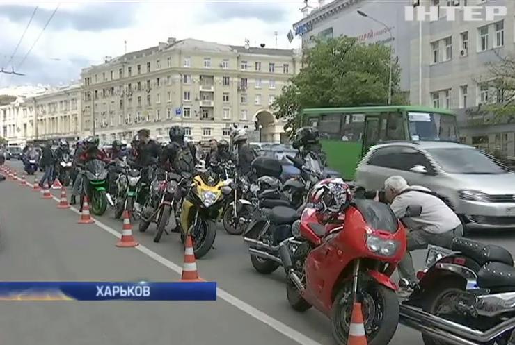 В Харькове байкеры восстали против решения Геннадия Кернеса