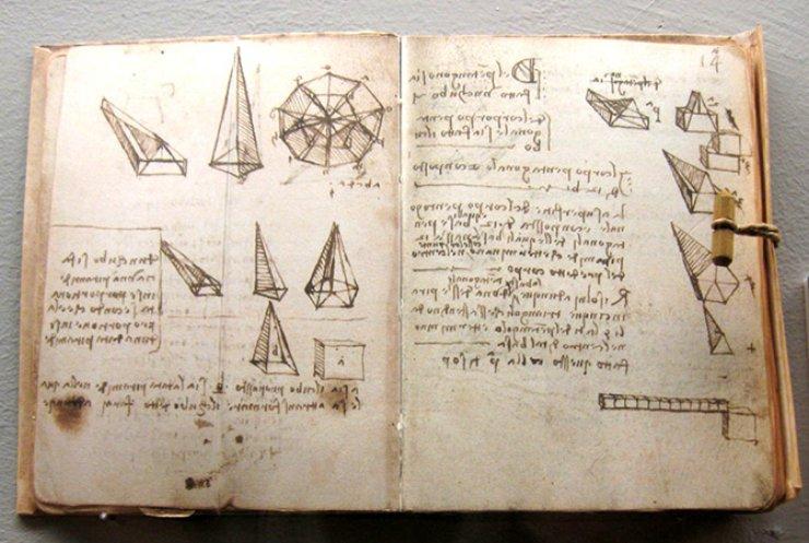 В рукописях Леонардо Да Винчи обнаружили сенсационные открытия