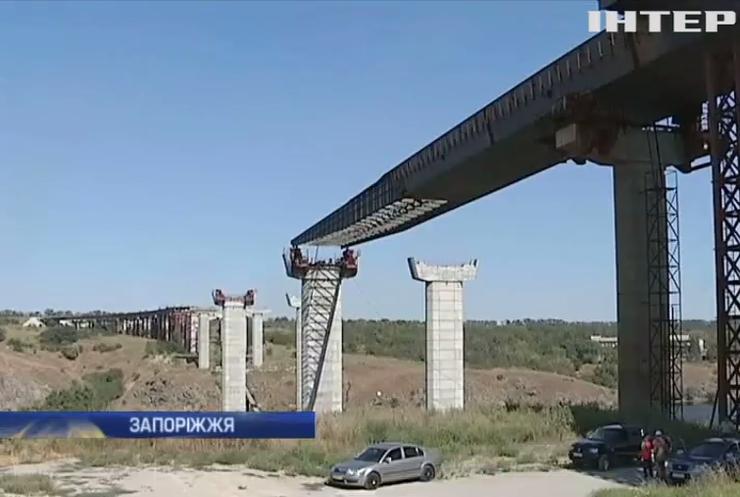 У Запоріжжі 12 років не можуть добудувати міст через Дніпро