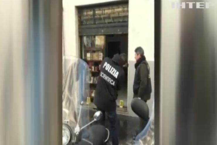 В Италии из-за взрыва бомбы пострадал полицейский