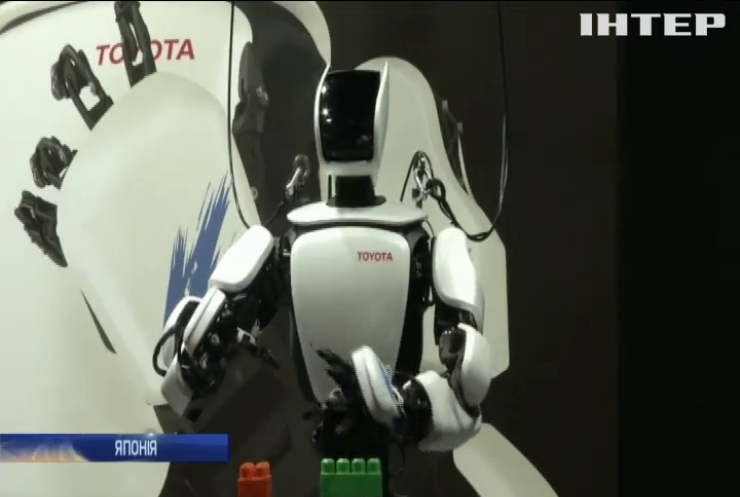 В Японії презентували людиноподібного робота
