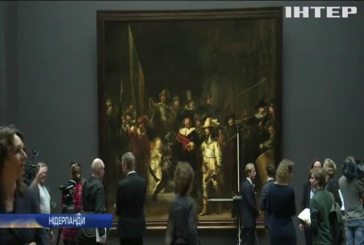 """В Амстердамі проведуть реставрацію картини """"Нічна варта"""" Рембрандта"""