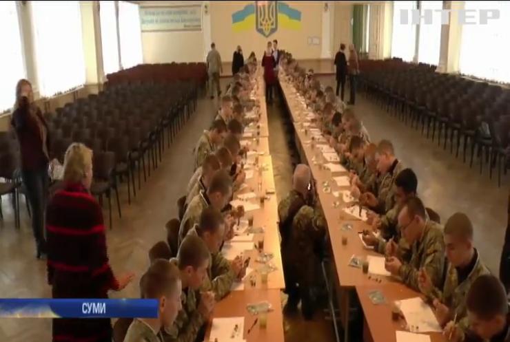 """Кадети приготували """"миколайчиків"""" військовим на Донбасі"""