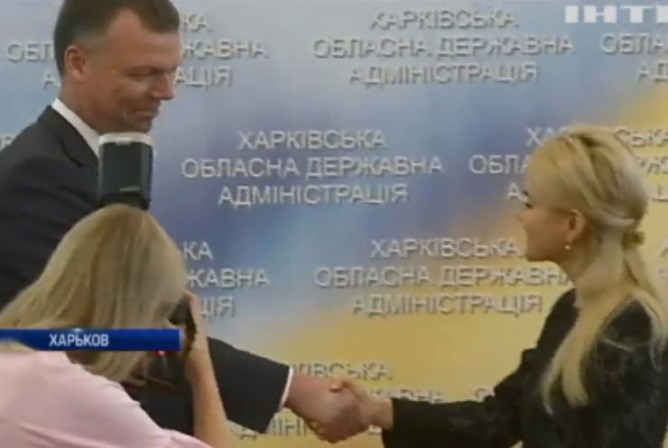Глава Харьковской облгосадминистрации обсудила с наблюдателями ОБСЕ проблемы переселенцев Донбасса