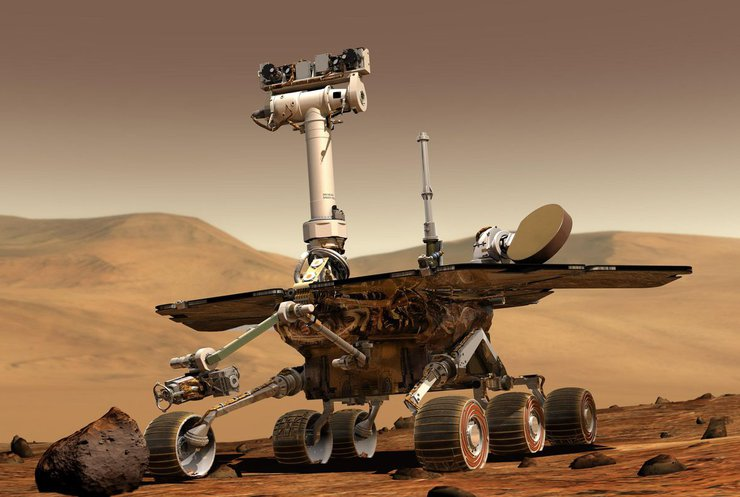 Марсохід NASA перестав виходити на зв'язок