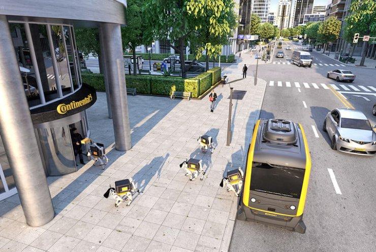У США створили роботів-кур'єрів