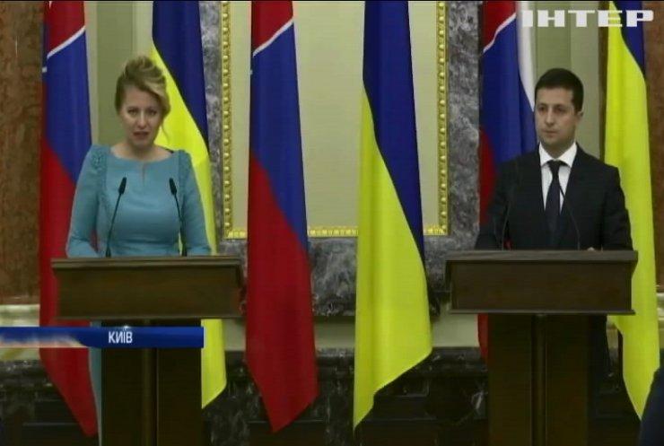 Президенти України та Словаччини обговорили співпрацю між державами