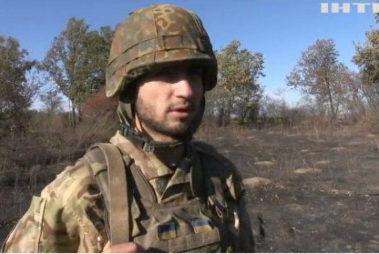 На фронті українські захисники готуються до холодів