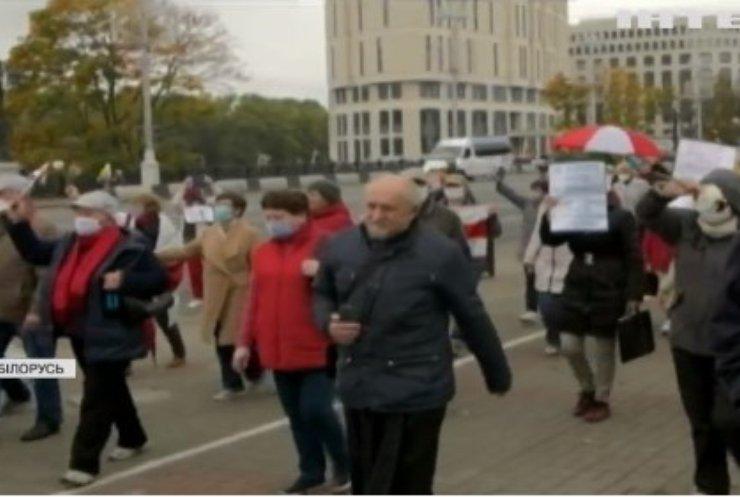 Світлана Тихановська прокоментувала розгін маршу пенсіонерів