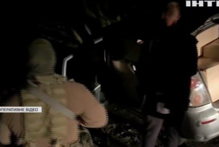 Прикордонники перехопили контрабандиста з Молдови