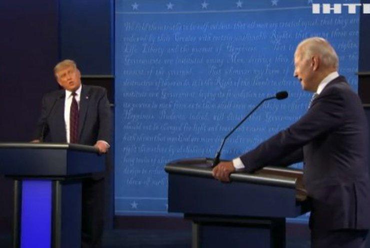 У США на президентських дебатах вимикатимуть мікрофони