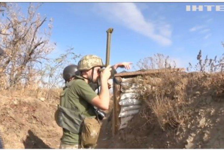 Війна на Донбасі: український військовий дістав контузію