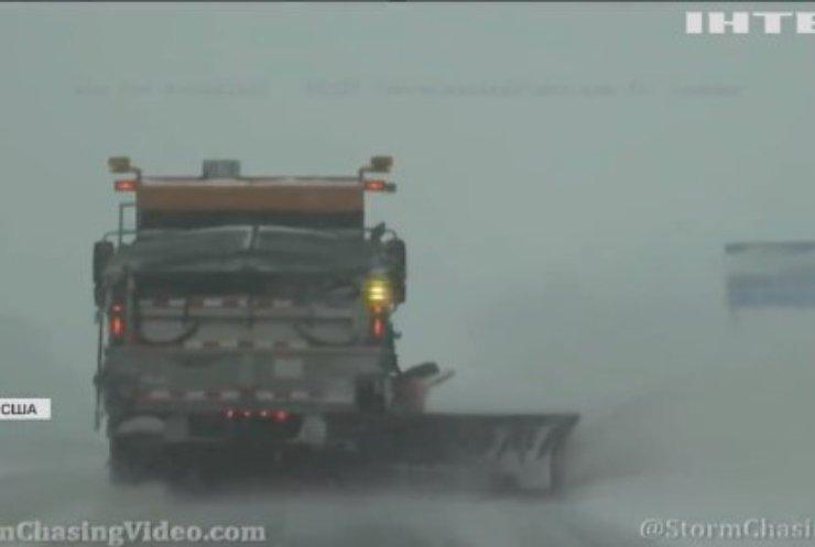 У США снігопад пошкодив лінії електропередач