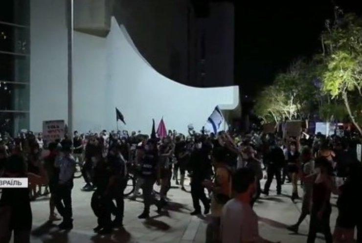 У Тель-Авіві продовжуються протести невдоволених карантином