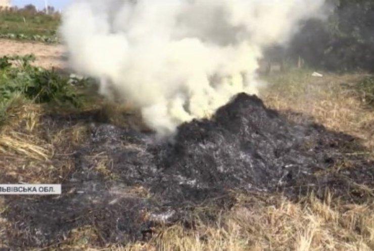Чому Львівщина опинилася у димовій завісі