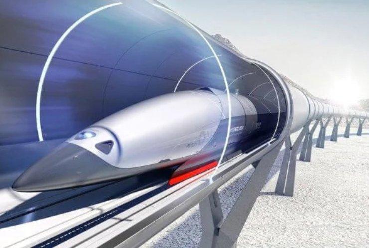 У США випробували перший вакуумний потяг з пасажирами на борту
