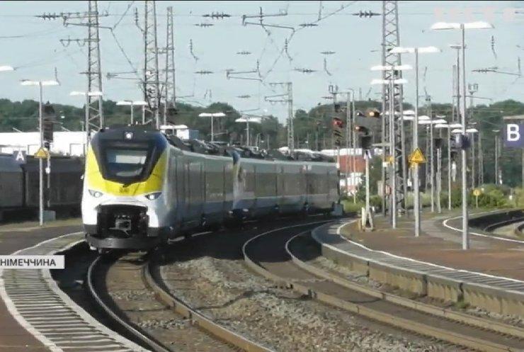 В Німеччині запускають у виробництво водневі потяги