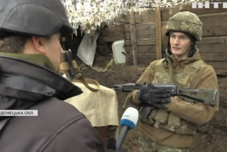 На Донбасі бойовики намагаються замінувати українські позиції