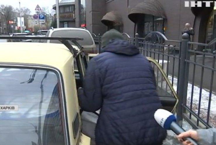 """У Харкові встановили дорожній знак """"місце для паркування оленів"""""""