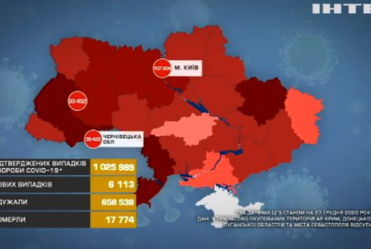 COVID-19 в Україні: які області опинились у антирейтингу?