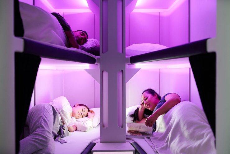 У Новій Зеландії презентували спальну капсулу для авіапасажирів