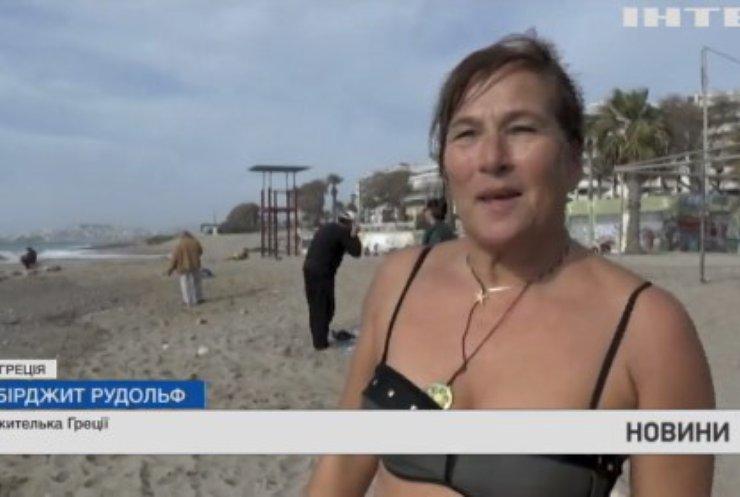 Аномальна спека у Греції: повітря прогрівається до 30 градусів за Цельсієм