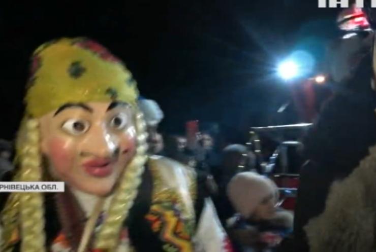 На Буковині колоритно відсвяткували Старий Новий рік