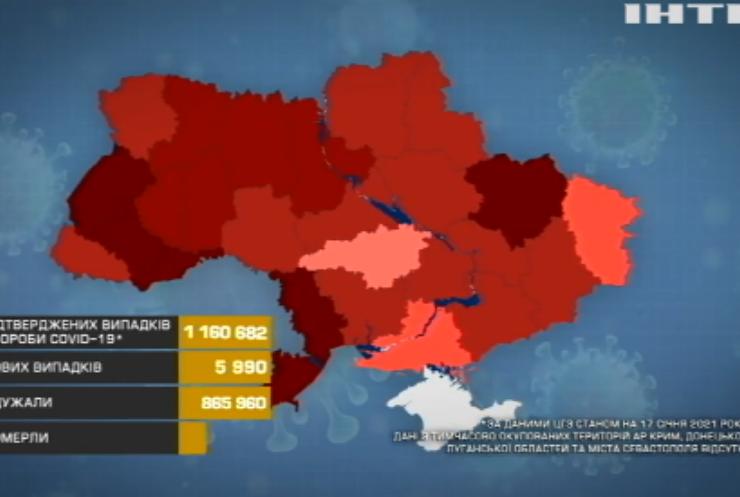 COVID-19 в Україні: на вершині антирекорду залишається Київ