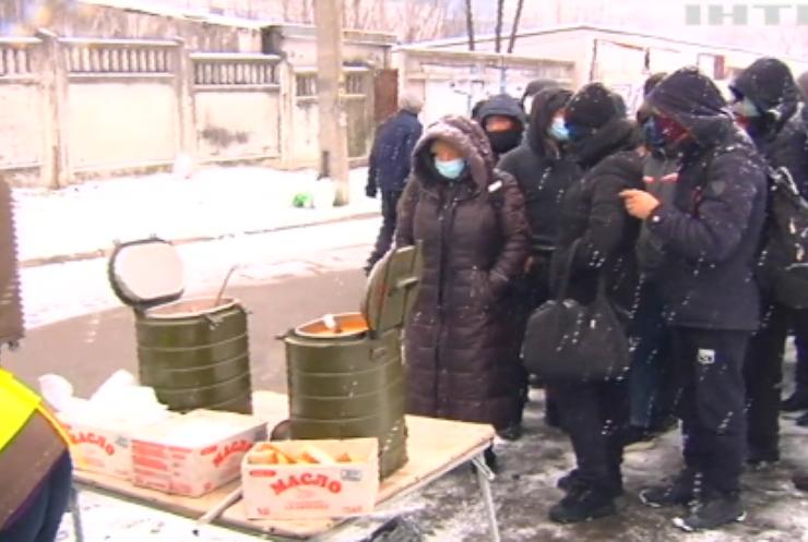В Україні облаштовують пункти обігріву