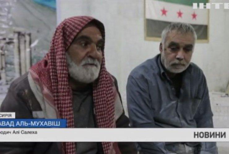 У Сирії майстер ліпить із глини давнє зруйноване місто