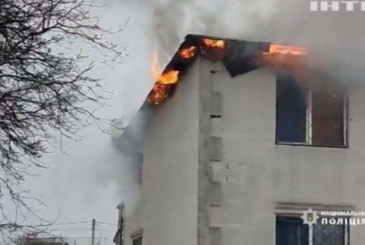 У Харкові затримали чотирьох осіб через пожежу у будинку для літніх людей