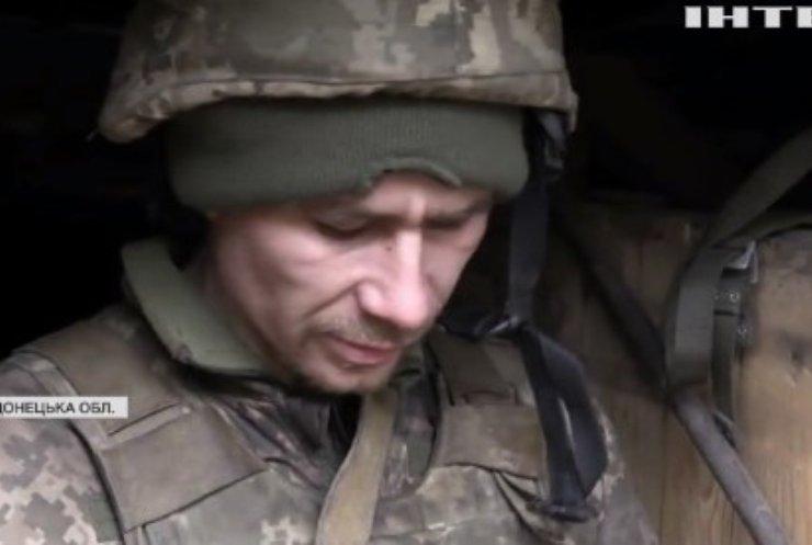 Війна на Донбасі: українські військовослужбовці стримують супротивника