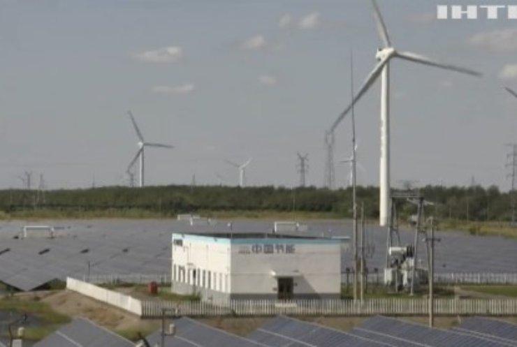 Європейські вітряки вперше виробили більше енергії ніж АЕС
