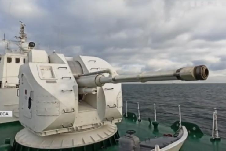 У Чорному морі провели військові навчання