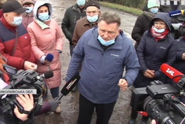На Миколаївщині фермер знущається з тварин