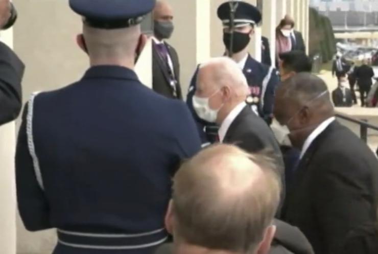 Джо Байден відвідав Пентагон