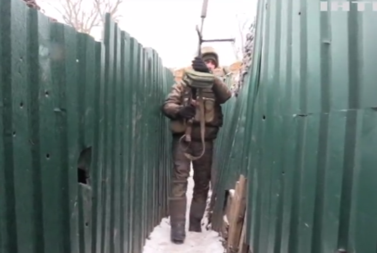 Війна на Донбасі: знову працювали російські снайпери