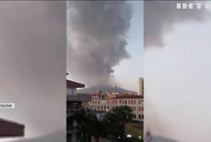 На італійському острові прокинувся найактивніший вулкан Європи