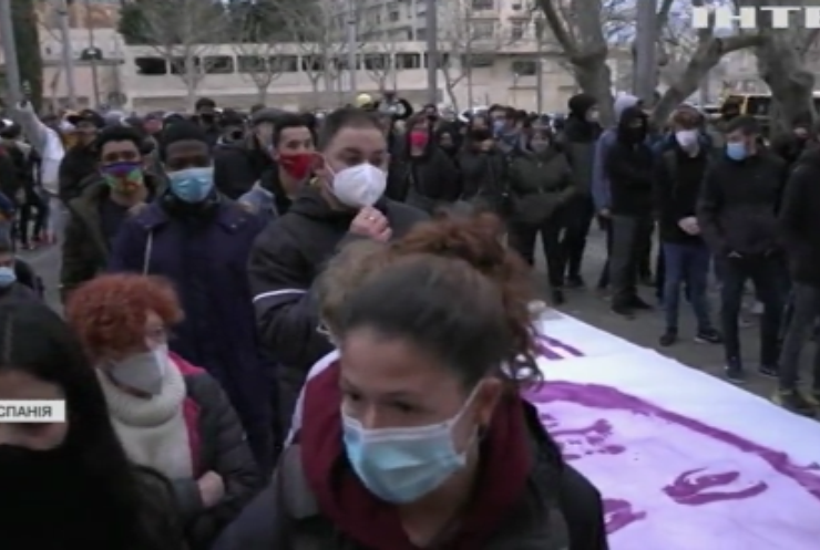 В Іспанії не вщухають масові протести й заворушення